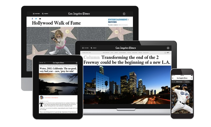 The L.A. Times on your device