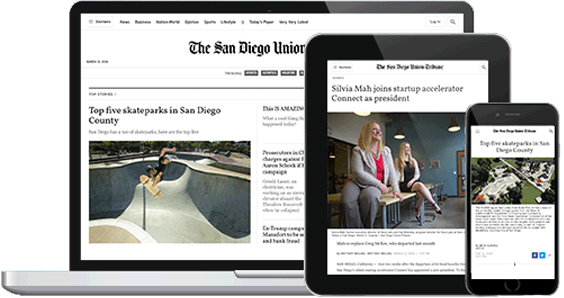 san diego union tribune digital device